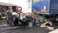 Unfall A57 Gestern