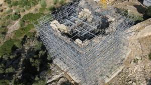 Αρχαίο φρούριο των Αιγοσθένων, συνεχίζεται η αποκατάσταση