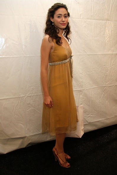 Emmy Rossum - W Lounge At Olympus Fashion Week
