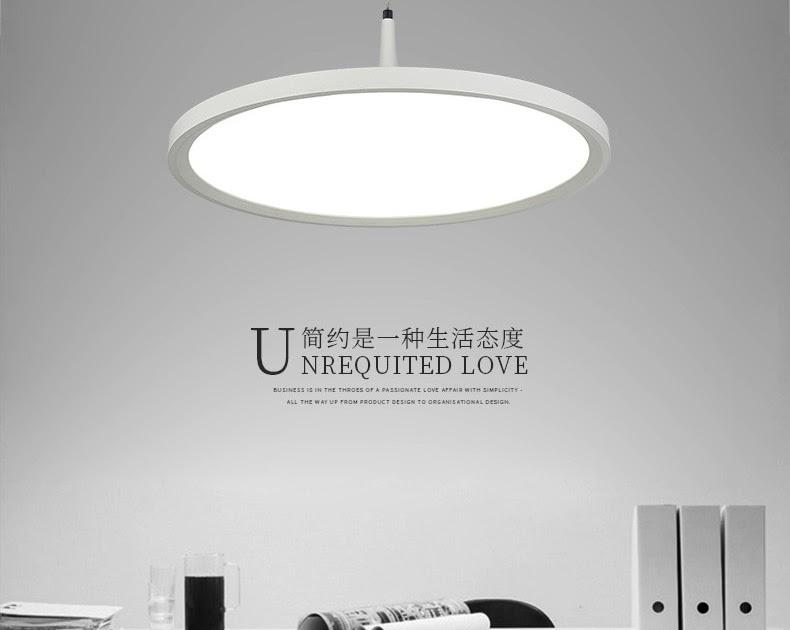 Goede koop moderne minimalistische restaurant verlichting diameter