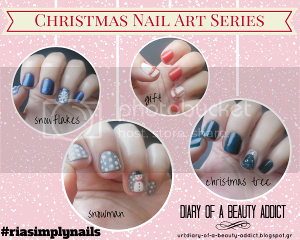 4 Nail Art Tutorial: Easy Christmas Nails