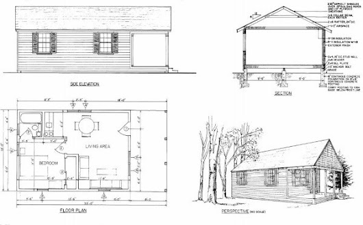 Log Home Plans: 11 Totally Free DIY Log Cabin Floor Plans