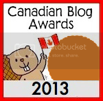 Canadian Blog Awards 2013 Edition