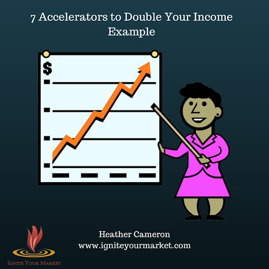 Weekly Spark: 7 Accelerators to Double Your Income