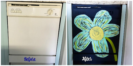 I Painted My Dishwasher - Re-Fabbed