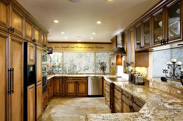 Sacramento Custom Kitchen Cabinet Design Gallery
