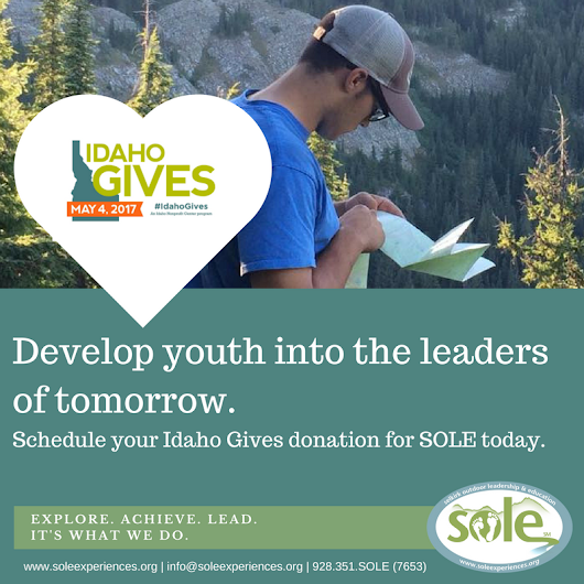 TODAY'S THE DAY!  Idaho Gives, will you?