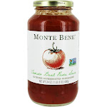 Monte Bene GlutenFree Pasta Sauce Tomato Basil 24 oz.