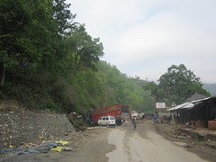 crash on the Kathmandu-Pokhara highway