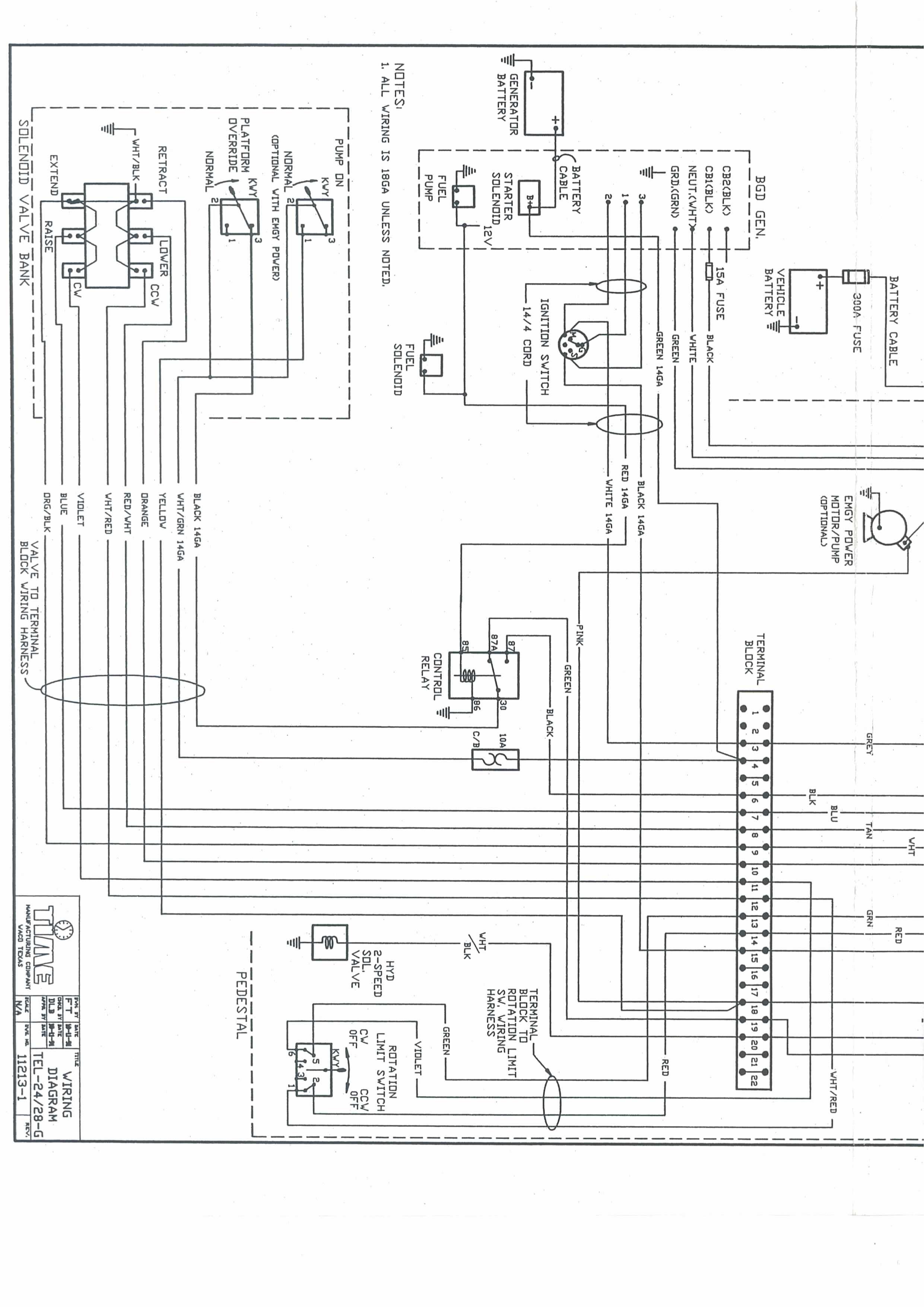 32 Versalift Bucket Truck Wiring Diagram