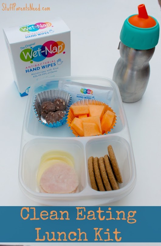 A Clean Eating School Lunch Idea (Including Clean Hands Afterward!) - Stuff Parents Need