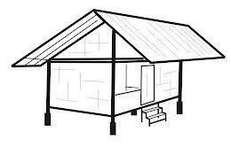 Gambar Sketsa Rumah Adat Betawi Zen Rumah