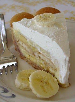 Banana pudding pie....yum!