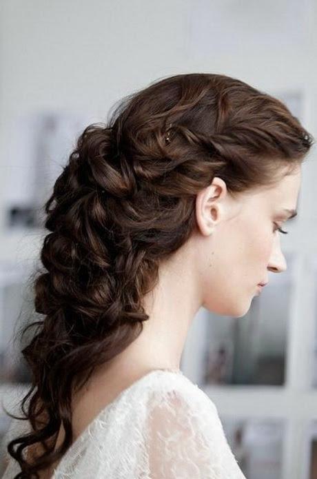 Vintage  wedding hairstyles  for long  hair