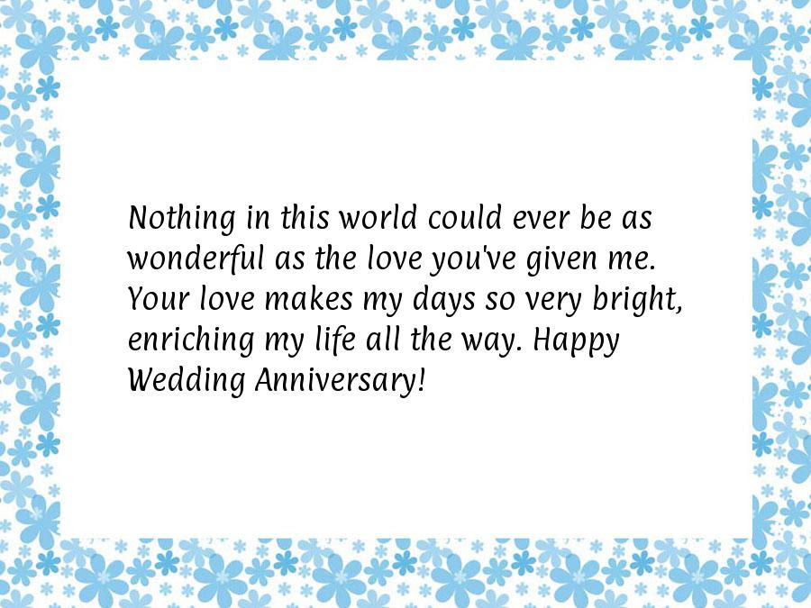 Anniversary Greetings To Husband