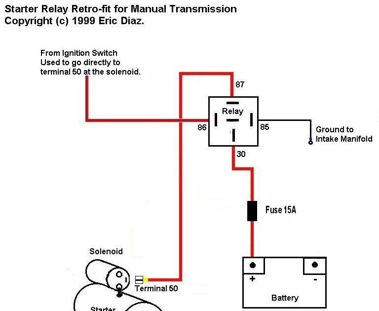 30 Ford Starter Relay Wiring Diagram