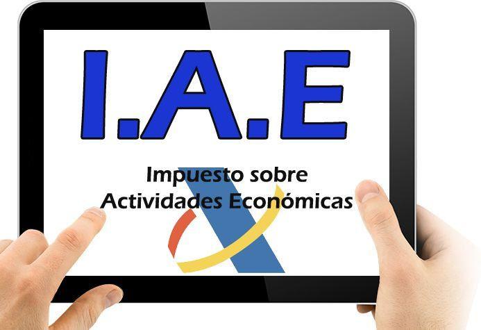Resultado de imagen de IMPUESTO SOBRE ACTIVIDADES ECONÓMICAS (IAE)