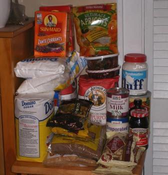 2009 Holiday Baking Supplies