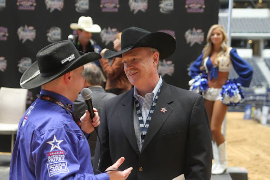PBR CEO Jim Haworth Stops By The Rodeo Round Up At The Iron Cowboy Event - The Rodeo Round Up