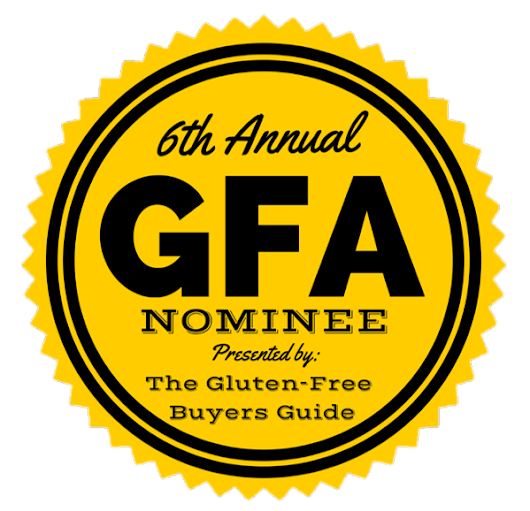 6th Annual Gluten-Free Awards Top Blogger Nominee