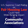Fair Housing Law and Impact on Community Associations