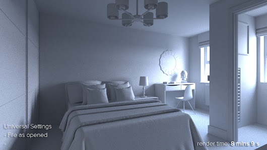 HDR Sky Lighting for Interiors