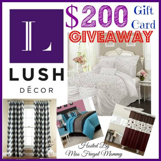 Enter the Lush Decor Giveaway. Ends 1/16