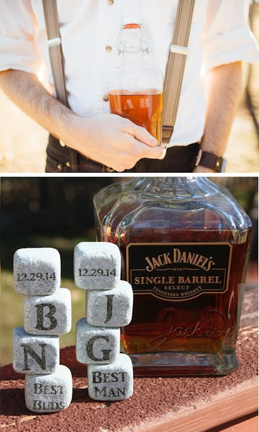 Cool and Fun Groomsmen Gift Ideas
