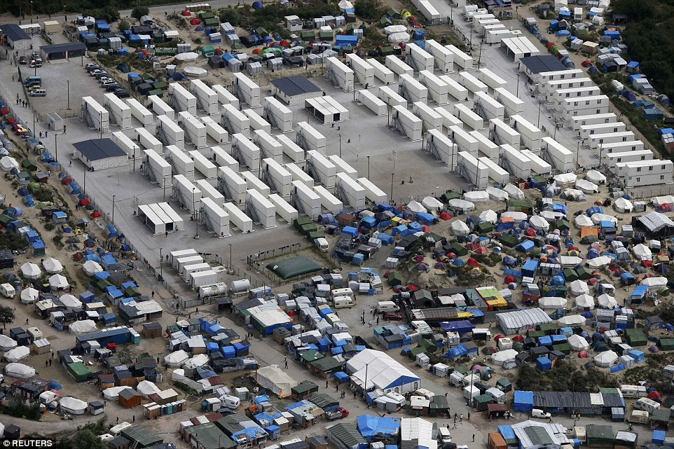 Back in August, thousands of people were living in the sprawling camp, which housed those hoping to move to Britain