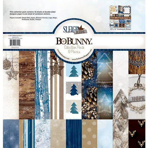 BoBunny - Sleigh Ride Collection - Christmas - 12 x 12 Collection Pack