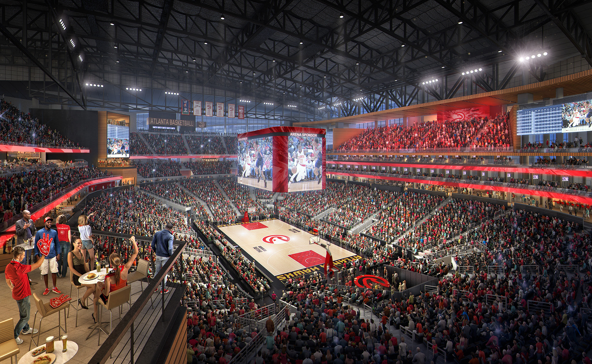 Atlanta Hawks: Reimagining Philips Arena - Arena Digest