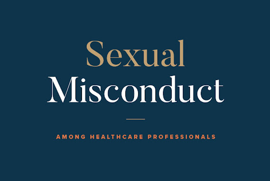 [Study] Sexual Misconduct Among Healthcare Professionals