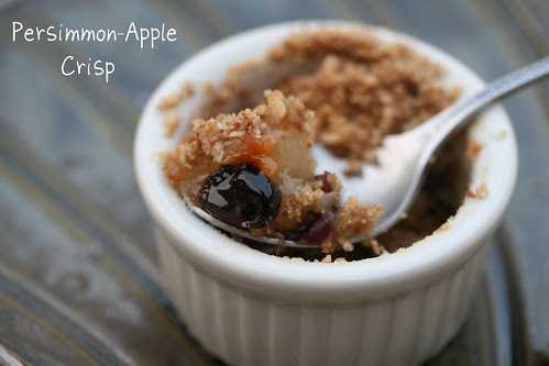 Persimmon-Apple Crisp - Tuesdays with Dorie