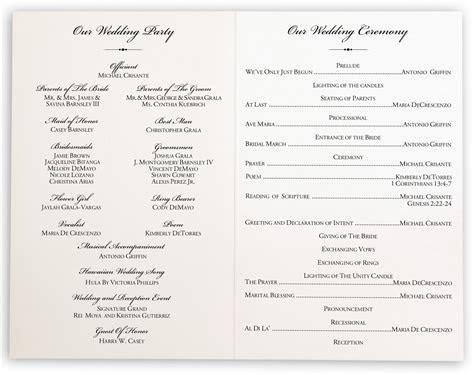 Tree of Life Heart Wedding Programs, Church Programs