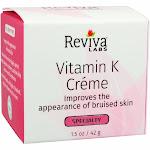 Vitamin K Cream By Reviva Labs - 1.5 Ounces