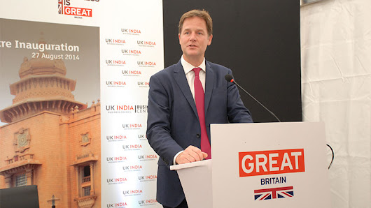 Nick Clegg reviews his third day in India