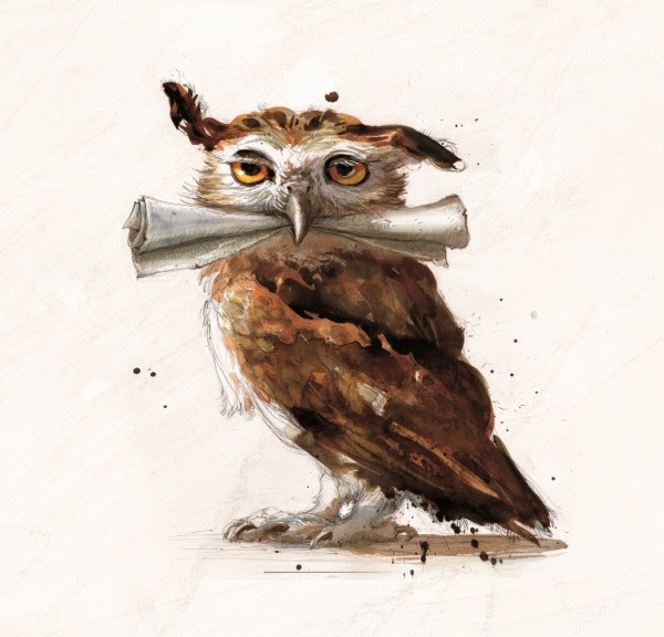HP1_CH04_owl_with_scroll01