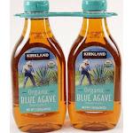 Kirkland Signature Organic Sweetener, Blue Agave - 2 pack, 36 oz bottles