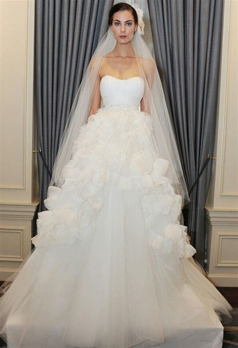 Strapless Empire Waist Ball Gown Featuring Sweetheart
