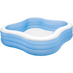 Intex Swim Center 90in x 90in x 2in Inflatable Play Kids Backyard Swimming Pool by VM Express