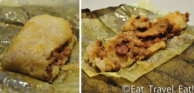 Lunasia Chinese Cuisine- Alhambra, CA: Sticky Rice Wrap