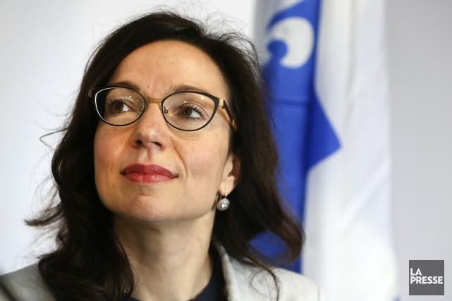 La député du PQ Martine Ouellet n'est toujours... (PHOTO ROBERT SKINNER, LA PRESSE)
