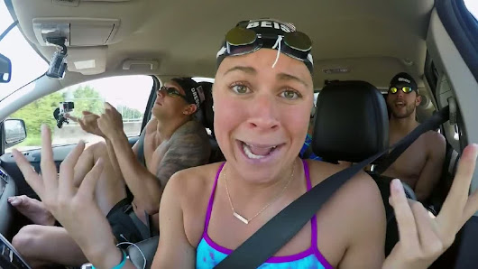 Beisel, Olympic swim team release carpool karaoke video