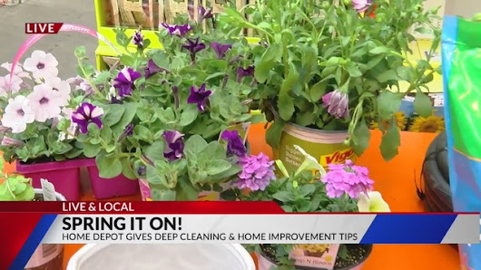 Spring cleaning tips from the Home Depot - KXRM