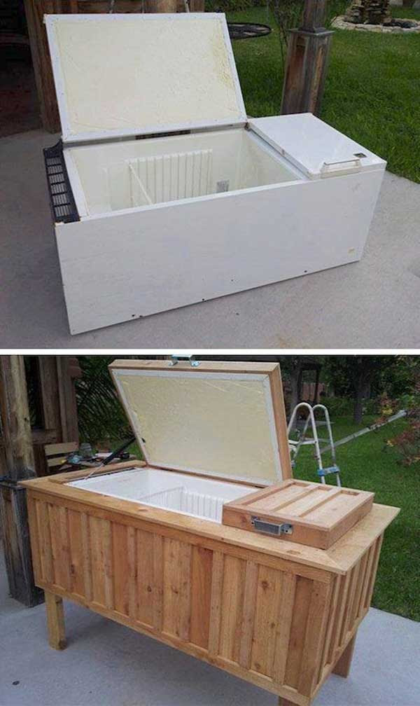 19 Clever DIY Outdoor Cooler Ideas Let You Keep Cool In ...
