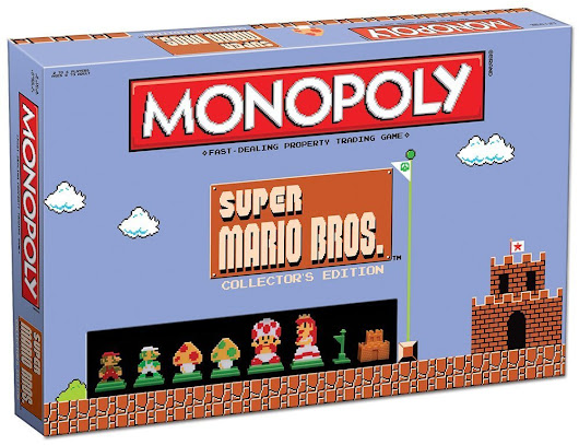 Amazon: Super Mario Bros Monopoly Available Again June 12th