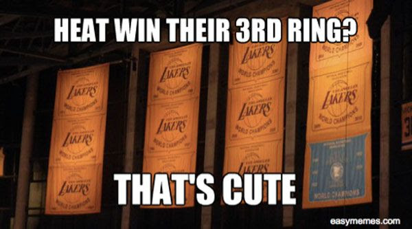 Only the Boston Celtics can laugh at this. Punks.