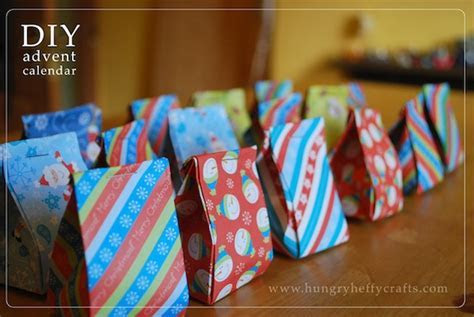 Making My Own Origami Advent Calendar