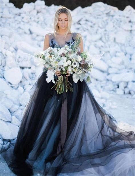 Remarkable And Non Traditional Wedding Gowns For The