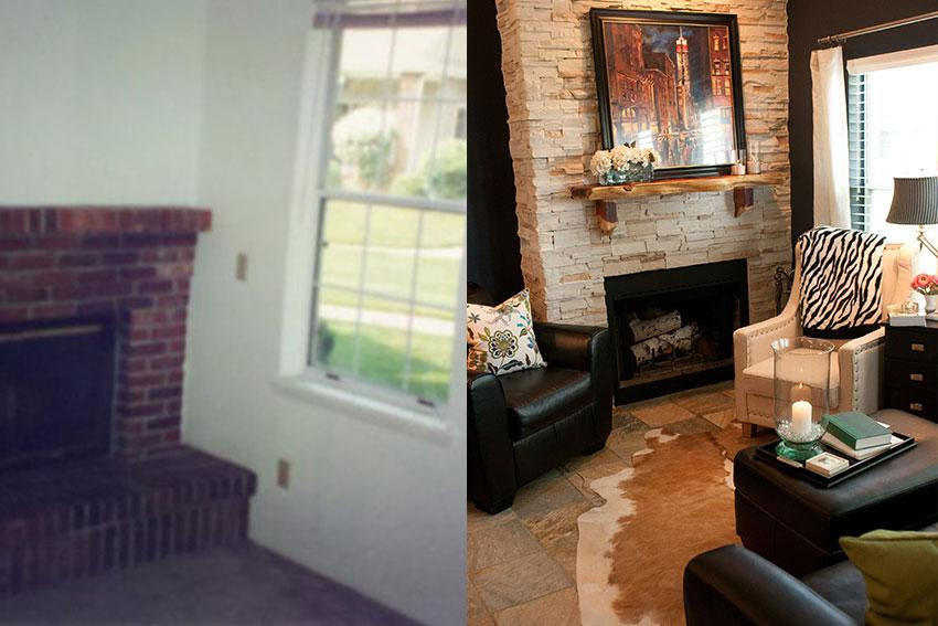 Before And After Interior Design Photo Gallery Kathryn Elizabeth